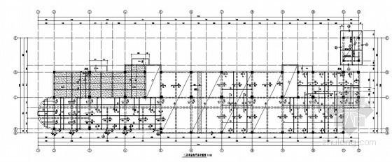 框架结构大学后勤综合楼结构施工图(五层 独立基础)