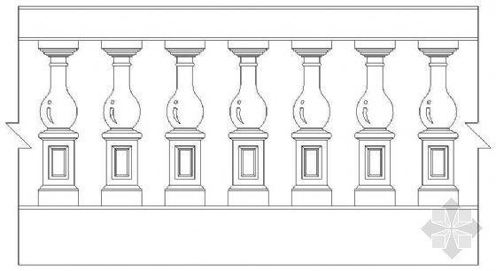 欧式栏杆详图30
