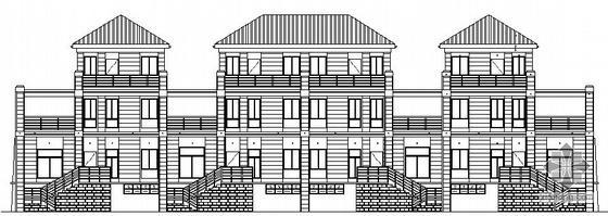 [吴江市]某三层别墅建筑结构施工图