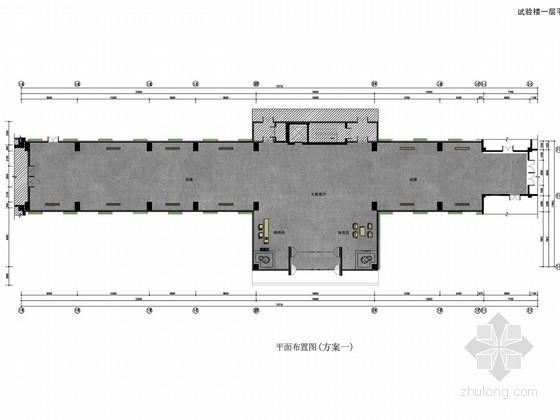 [北京]股份制建筑公司技术中心现代实验楼室内设计方案