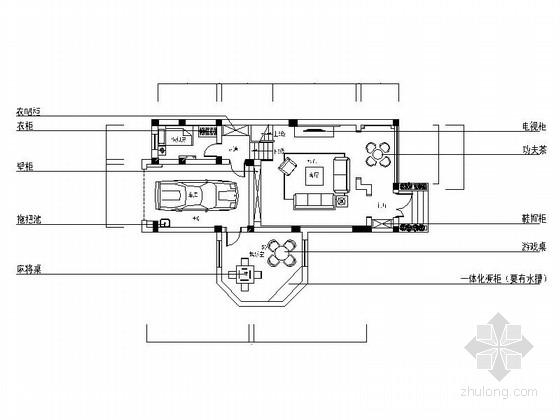 [原创]精品简约现代三层别墅室内装修施工图