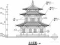 仿唐古建阁混凝土框架结构施工图