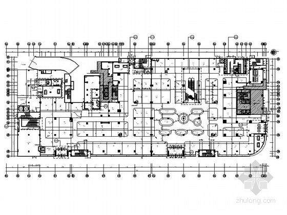 UPS插座布置资料下载-[南昌]中央商务区现代化新型城市多功能商场室内装修施工图(含效果)