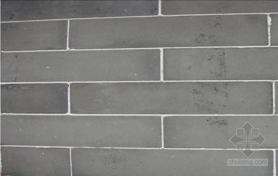 [QC成果]提高仿古青砖饰面砖勾缝感观质量(图文并茂)