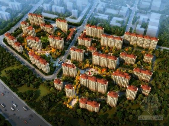 安置区住宅文本资料下载-[北京]现代风格住宅安置区规划设计方案文本(知名设计院)