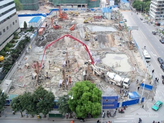 [福建]15米深基坑排桩加三道混凝土内支撑支护施工方案