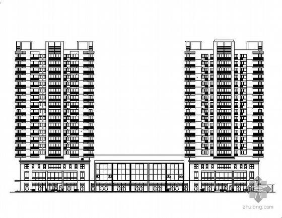 某十八层商住楼建筑施工图(带人防)