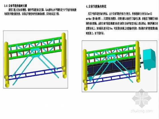 标高110米格构墩安装实施方案附CAD(节段吊装 含试拼工艺)
