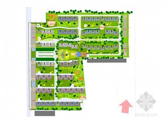 [张北]某住宅小区规划设计方案(含户型及效果图)