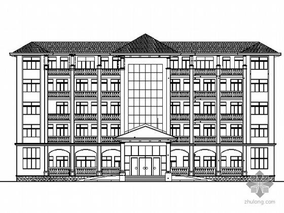 [琼海市]某采种基地五层办公综合楼建筑施工图