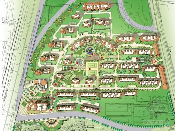 [南京]西班牙风情居住区景观设计方案
