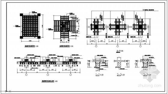 某框架结构碳纤维加固节点构造详图