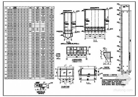 某水箱及电梯井节点构造详图