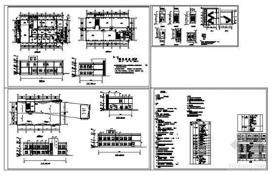 某二层医务所建筑方案图-4