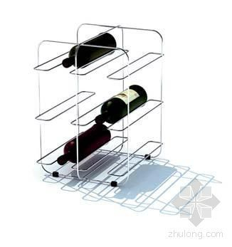 厨房设施--酒架090