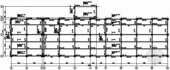 某底框结构戒毒所结构施工图