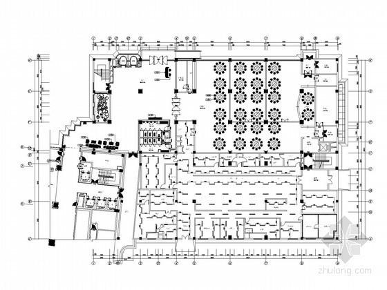换热机房图纸资料下载-[湖北]一类高层酒店及住宅小区综合体全套电气施工图纸(含锅炉、换热器系一分钟一开的快三怎么翻倍统图)