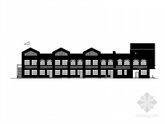 [四川]欧式风格二层6班幼儿园建筑施工图(知名设计院)