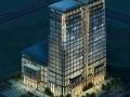 [河南]某19层欧式酒店建筑方案文本