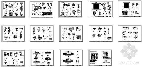某钢构公司构造节点配料安装图集