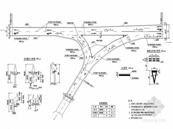 [广东]省道路面大修工程全套施工图设计127页(含排水 交通 预算)
