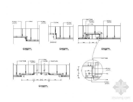 洗浴中心顶棚详图-2