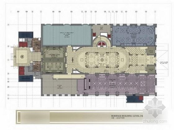 [上海]某国际品牌连锁五星级度假酒店设计方案图