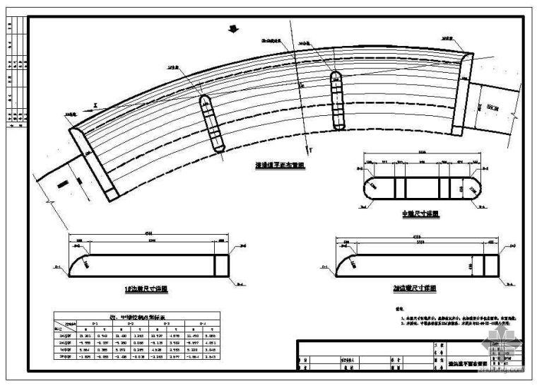 双坑拱坝施工图