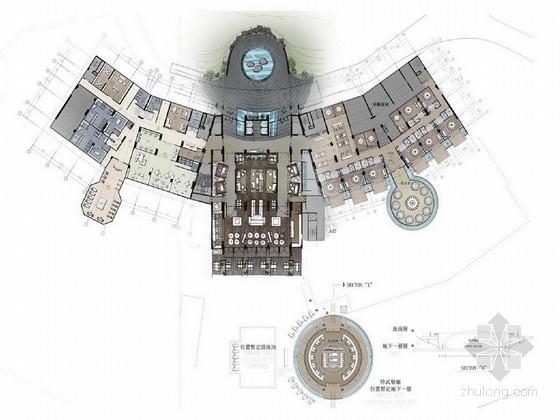 [蛇口]中国政府评定豪华五星级酒店设计方案图
