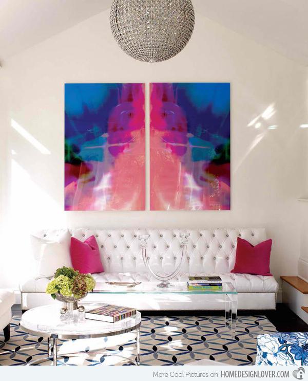 20个时尚的客厅装修设计案例_14
