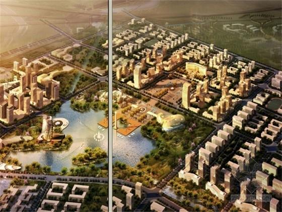 [辽宁]现代水域风情城市规划设计方案