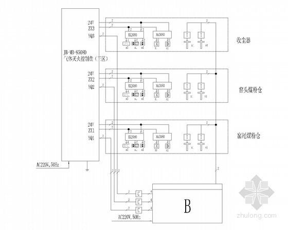 [新疆维吾尔]自动灭火系统工程设计图纸