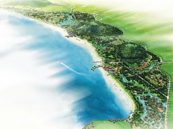 [海南]民族特色文化海滨风景名胜区景观规划设计方案
