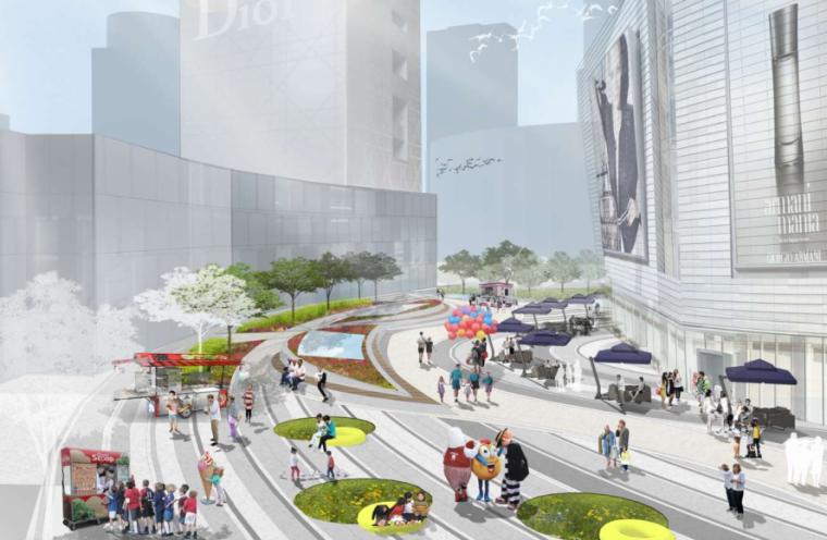 [重庆]观音桥太阳谷商业景观规划设计方案文本-AECOM(共117页)