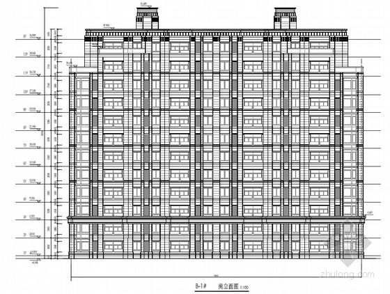 [长春]现代风格知名地产高层住宅区建筑设计施工图纸(298页PDF)
