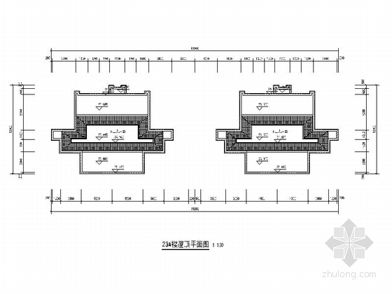 古典风格住宅小区规划设计方案立面图