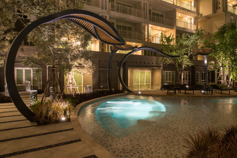 泰国秋季公寓楼小区_14