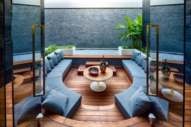 又酷又简洁的现代客厅_5