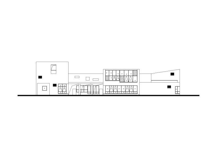 [四川]成都曾家坡幼儿园建筑施工图(CAD+效果图)