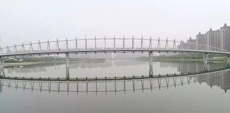 """太原""""汾河之冠""""人行景观桥,尽展结构技艺之美!_14"""