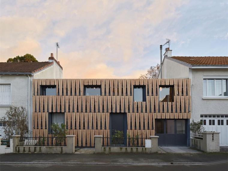 法国拼贴风的住宅