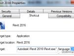 REVIT小技巧文件语言格式