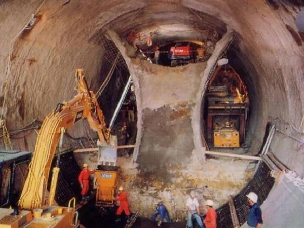 新奥法隧道洞身开挖施工方法