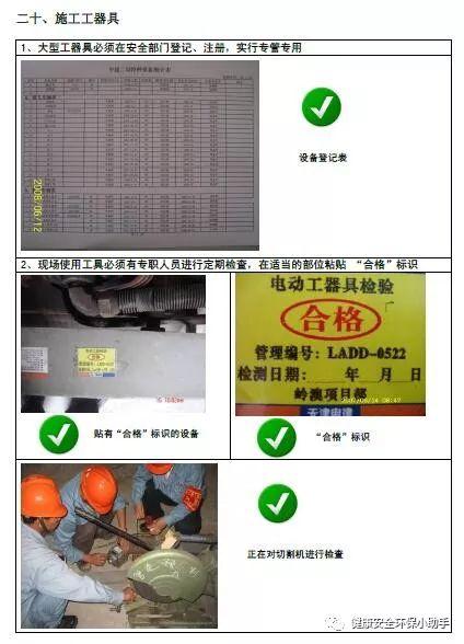 一整套工程现场安全标准图册:我给满分!_47