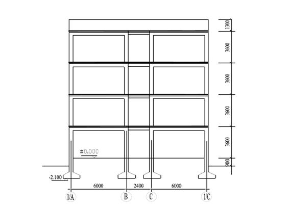 [江苏]6层混凝土框架结构中学教学楼毕业设计(word,187页)