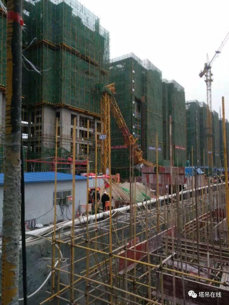 12月10日陕西汉中一在建工地塔吊倒塌致3人死亡_5