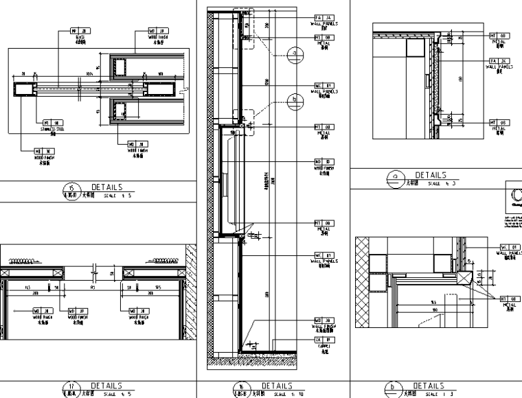 中山希尔顿酒店设计施工图(附效果图)-大样图