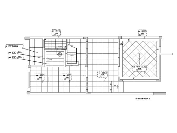 [广东]现代泰式风格住宅设计施工图