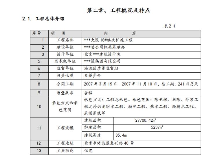 住宅大院18#楼暖通工程施工组织设计方案(Word.55页)