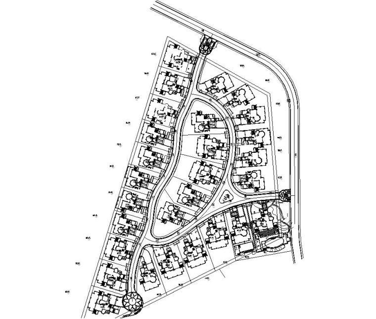[广东]观澜湖高尔夫球会景观设计V4区全套施工图设计